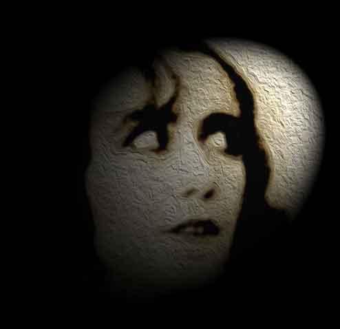 Angst Frau